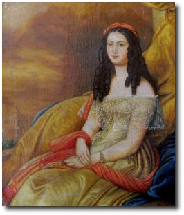 Lady Hester Stanhope in Malta